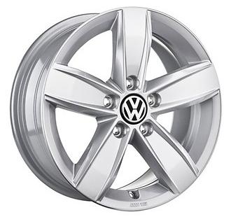 "Original VW Amarok Alufelge 16 Zoll Design ""Corvara"" silber - 1Stück NEU"