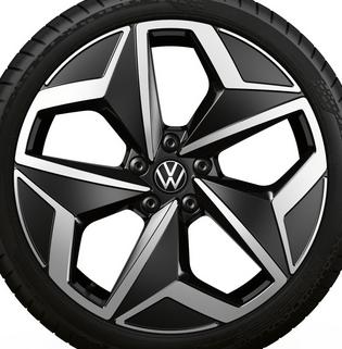 "Original VW ID3 Alufelge 19Zoll Design""Andoya"" schwarz glanz 1 Stück (NEU)-"