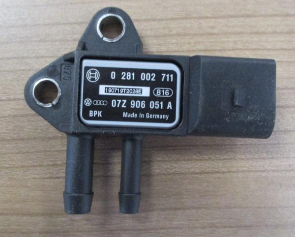 VW Audi Differenzdrucksensor 07Z906051A Sensor DPF Filter Drucksensor OVP!