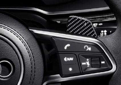 Audi R8 Lenkrad-Schaltwippen in Carbon Audi Sport - Aktionspreis!
