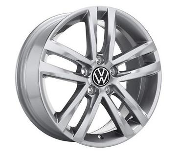 "Original Volkswagen VW Touran MQB 6,5x17 Zoll Alu Felge Aluminiumfelge ""Salvador""1 Stk"