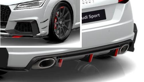 Audi Sport Performance Aerokit Carbon / schwarz glänzend TTRS (Variante 2)