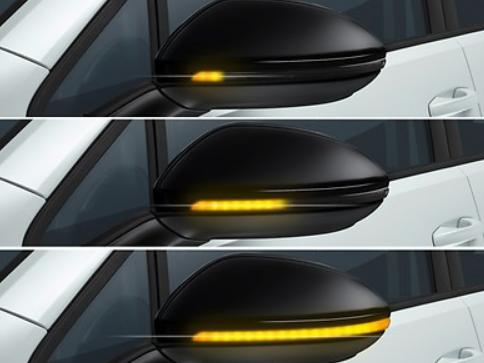 Dynamische Blinkleuchte Außenspiegel Volkswagen Golf 7 VII Dyna Blink NEU