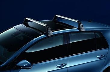 Original VW Grundträger T-Nut für Golf 7 (4-Türer) Volkswagen Dachträger Neu