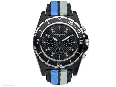 Original VW Motorsport Armband-Uhr Unisex, Schwarz, Motorsport