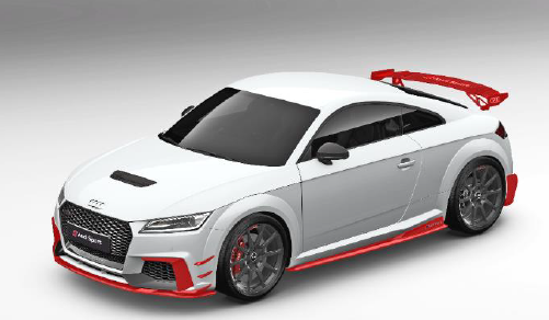 Audi Sport TTRS Performance Aerokit Carbon / schwarz glänzend (Variante 1) Aktionspreis