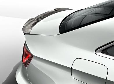 Audi Original A3 Limousine Heckspoiler Nachrüstkit aus Carbon ab Modelljahr 2014