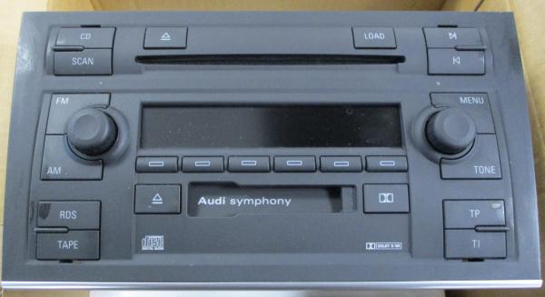 Audi Symphony II A4 8E 2001 original CD Autoradio 6 CD Wechsler NEU 8E0057195X NEU