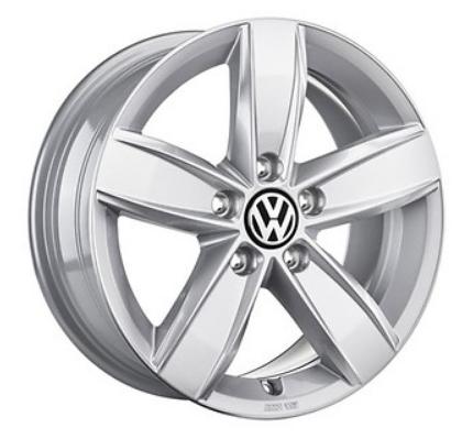 "VW Tiguan Alufelge 17 Zoll Brillantsilber neu Design ""Corvara"" - 1 Stück"