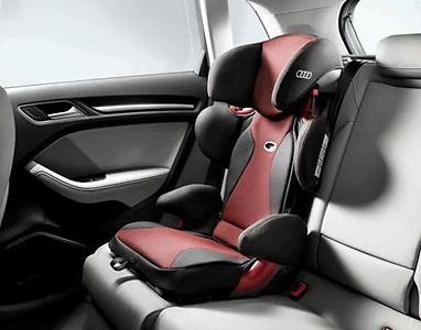 Audi Kindersitz youngster plus, 15-36 kg, misanorot/schwarz, Audi Original