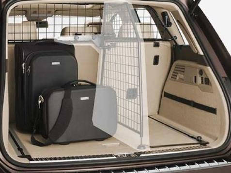 Original Volkswagen Trenngitter Gepäckraumschutz quer VW Touareg NEU