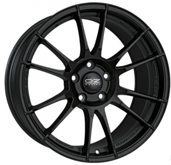 4 Alufelgen OZ ULTRALEGGERA 8x17 VW POLO (6R) MATT BLACK