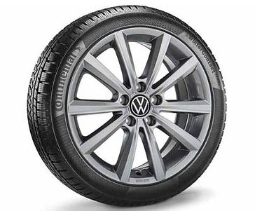 ORIGINAL VW Winterkomplettrad MERANO 7x17 VW Multivan T6 und T6.1 - 1Stück