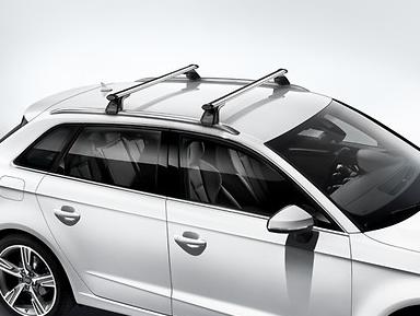 Original Audi Grundträger Audi A3 Sportback Typ 8V neues Modell mit Dachreling