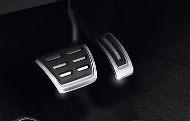 Original VW Pedalkappen-Set für Golf 7/8 für Fhz. mit DSG - 2 Teilig - NEU