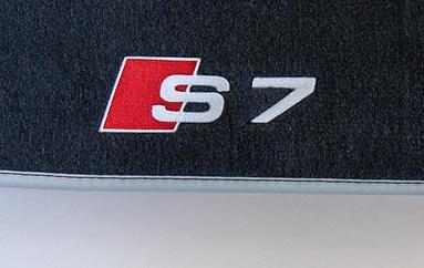 Original Audi A7 S7 RS7 Premium Textilfußmatten Set Velours 4-tlg vorne+hinten Matten OEM