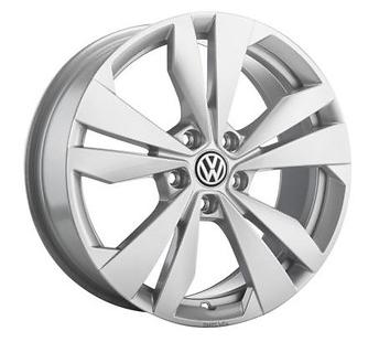 Original Volkswagen ID.3 Leichtmetallfelge Aluminium, 10A 071 498 8Z8-1 Stück