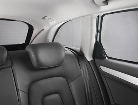 Audi Original Sonnenschutzsystem 5-er Set Audi A4 Avant Typ 8K komplett