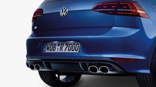 VW Original Golf 7 VII R abgedunkelte LED Rückleuchten Nachrüstsatz Heckleuchten
