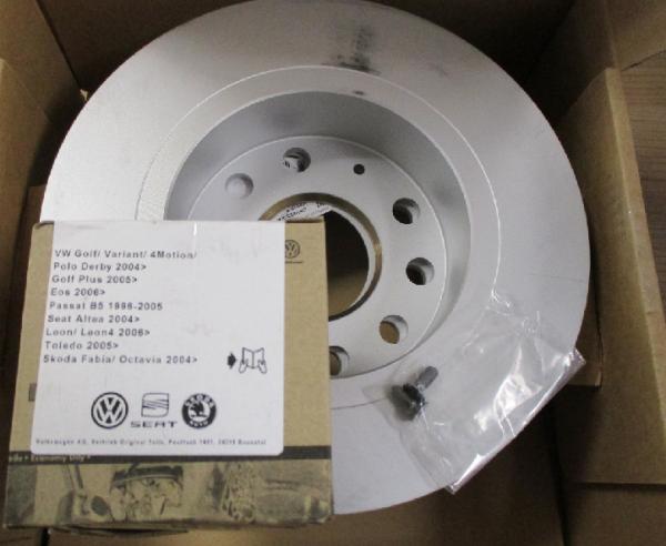 VW Original Bremsenkomplettsatz T5 T6 hinten Bremsbeläge Bremsscheiben ECONOMY