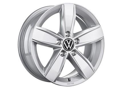 "Original Volkswagen VW Touran MQB 6,5x16 Zoll Alu Felgen Aluminiumfelge ""Corvara""1 Stk"
