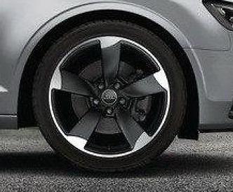Audi Original A3 8V Alufelge 18 Zoll 7,5Jx18 ET51 8V0601025BT 5 Arm Rotor Design - 1Stück