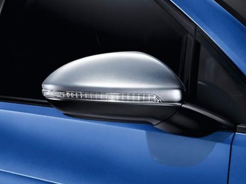Original VW Spiegelkappen Golf VII R chrom matt Nachrüstung 5G0072530 NEU!