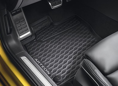 NEU Original VW Gummimatten SET 4-teilig vorn+hinten Arteon Allwettermatten