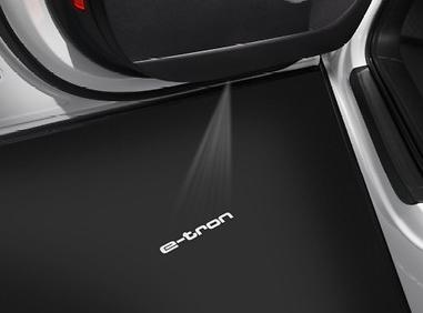 Original Audi Einstiegsbeleuchtung Logoprojektion e-tron /etron NEU