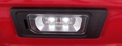 Audi Original LED-Kennzeichenleuchten Upgrade-Set