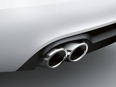 Original Audi Tuning S4 S5 A4 A5 Q5 Auspuffblende Endrohr Endstück Blenden edels