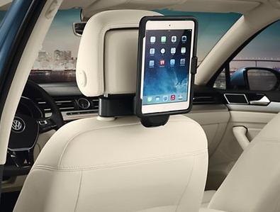 Original VW Kopfstütze / Reise- & Komfort-System / Halter Apple iPad mini