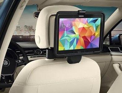 "Original VW Kopfstütze / Reise- & Komfort-System / Halter Samsung Galaxy Tab 3/4 10.1"""