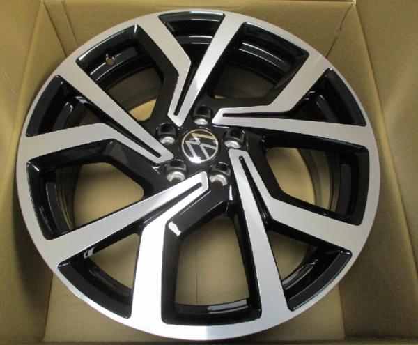 VW Polo GTI! Alufelge Brescia 18 Zoll / schwarz glanz - 2G0601025ACFZZ NEU!1 Stück OVP