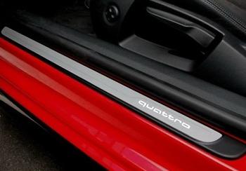 Einstiegsleisten-Set Audi A3 (8V) Original mit Schriftzug beleuchtet Tuning