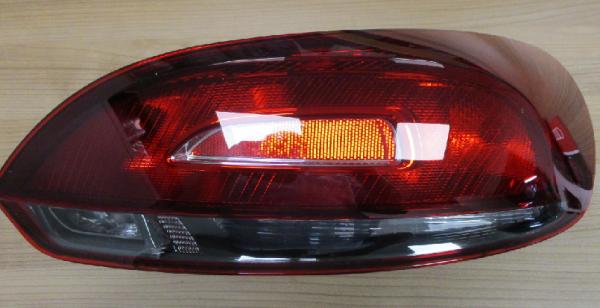Original VW Scirocco R R-Line schwarze Rückleuchten kirschrot abgedunkelt OEM