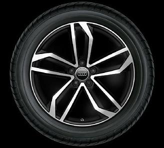 Audi Original Sommerkomplettrad Satz 245/35 R19 93Y Hankook 8,5Jx19 5-Arm Sidus