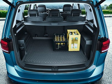 Original VW Kofferaumeinlage Kofferraumwanne Touran ab Baujahr 2015