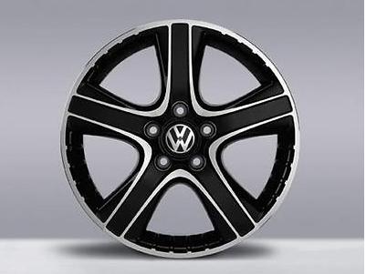 VW T5 Multivan Touareg Alufelge 18 Zoll - Dakar schwarz