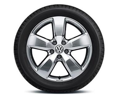 "Original VW Amarok Alufelge 19Zoll Design ""Aragonit"" poliert - 1Stück NEU"