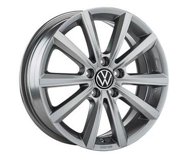 "Original VW Arteon LM-Felge ""Merano"" 7Jx17 - Adamantium Dark metall. - 1 Stück-"