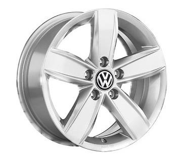 VW Caddy Alufelgen 15 Zoll - Design Corvara silber vom VW Partner (1 Stück) NEU