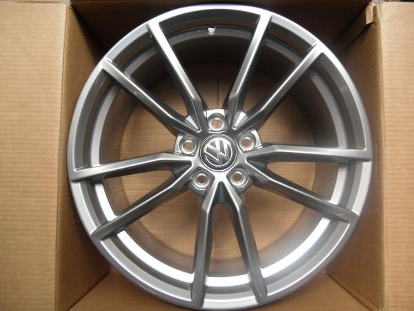 Original VW Golf 7 R Pretoria Alufelge 8 x 19 Grau-Metallic 5G0601025AJZ49 *NEU*