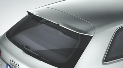 ORIGINAL AUDI Dachkantenspoiler S Line Tuning Sport Set Audi A3 8V4071640 9AX