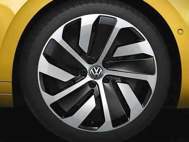 "Original VW Arteon LM-Felge ""Montevideo"" 8Jx19 (Schwarz), 3G8071499FZZ (1 Stück)"