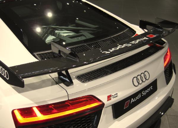 Audi Sport R8 Coupe Performance Aerokit Carbon / schwarz glänzend (Variante 1)