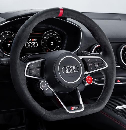Audi Sport R8 Coupe/Spyder Lenkrad Alcantara -12Uhr Markierung 2-Satell.NEU-Abverkauf
