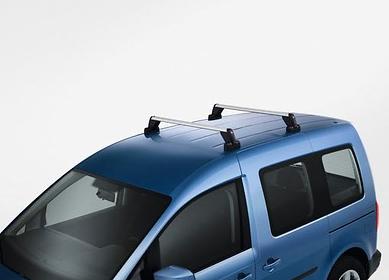 Original Volkswagen Grundträger Tragstäbe Gepäckträger Dachträger Caddy+Maxi Neu