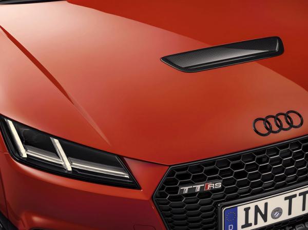 Audi Sport TTRS Performance Carbon Einsatz Motorhaube - Carbon Hutze