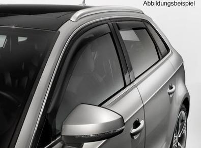 Original Audi A4 B9 Windabweiser Regenabweiser 2er Satz vorn links & rechts
